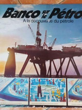 Banco sur le Pétrole, à la découverte du pétrole.Jeu MB 1977
