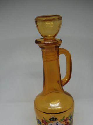 Carafe CAD verre jaune
