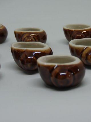 Coquilles escargot céramique