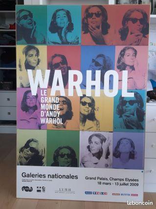 Tres belle affiche Warhol