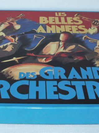 """Coffret 10  33 T """"Les belles années des grands orchestres"""""""