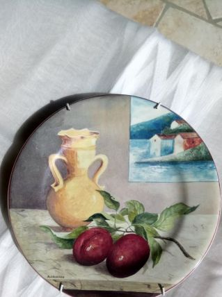 Assiette collection porcelaine de GIEN