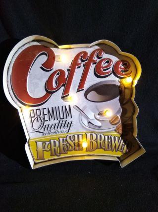 ENSEIGNE LUMINEUSE COFFEE NEUVE