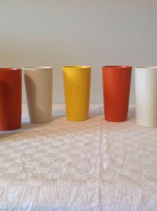 Gobelets plastique Tupperware