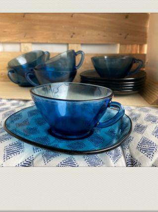 Service à café Arcopal Bleu