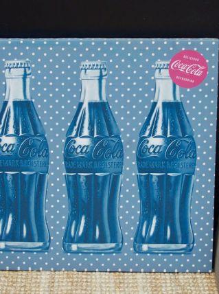 Toile tendue Coca Cola style vintage