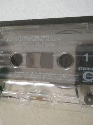 K7 audio — Antonello Venditti - In questo mondo di ladri