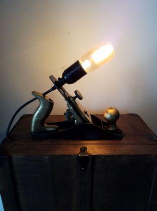 Lampe rabot métal n° 138