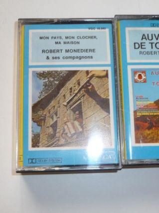 5 cassettes Audio Auvergne