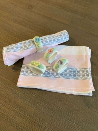 Ronds de serviettes shabby