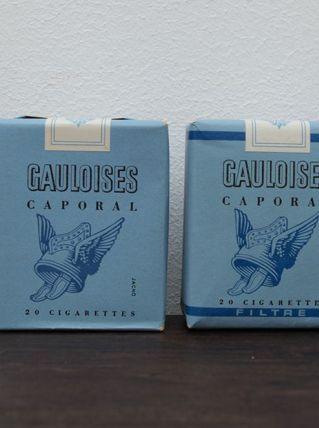 GAULOISES CAPORAL TROUPE CIGARETTES  - L7