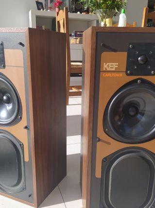 Enceintes KEF CARLTON III 100 W des années 80'
