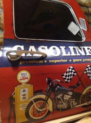 MIROIR 3D GASOLINE EN FORME DE PORTIERE