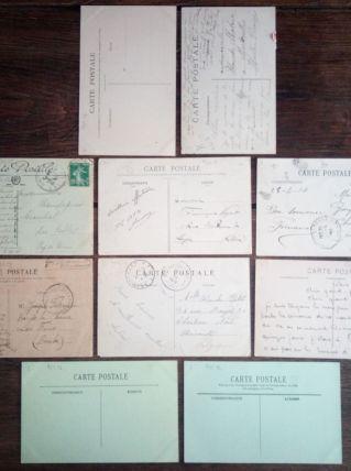 Paris - 10 cartes postales anciennes (lot2)