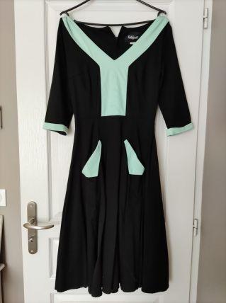 Robe vintage 40/50 36 petit 38 neuve
