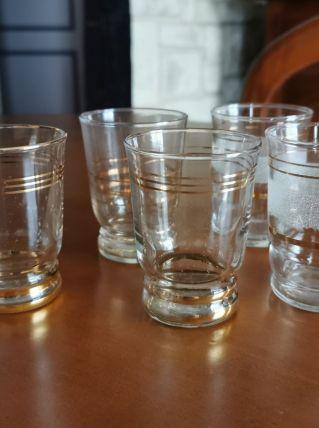 anciens verres à disgestif