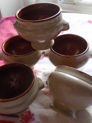5 bols à bouillon