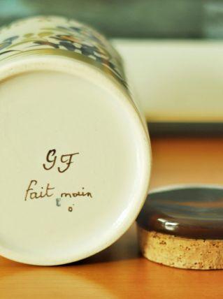 Ceramique 23 cm Gabriel Fourmaintraux
