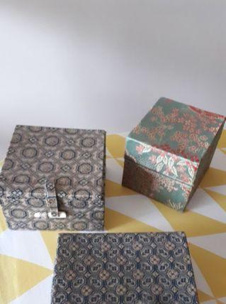 Lot de 3 boîtes chinoises