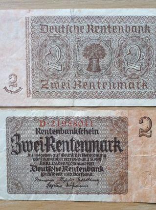 Billet de banque Allemand 1937