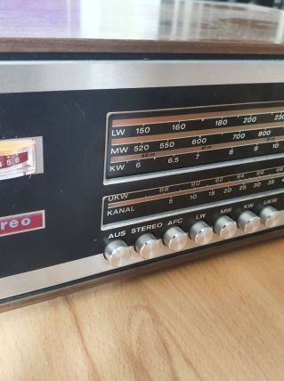 Telefunken hi fi stereo tuner 201 S