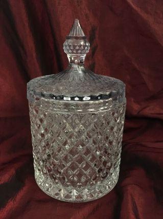 Pot couvert en verre