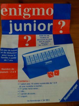 Jeu Enigmo junior