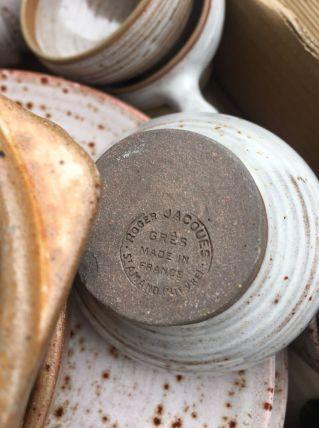 Vaisselle vintage grès