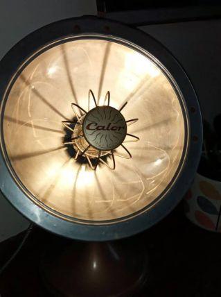 Lampe vintage ancien radiateur calor