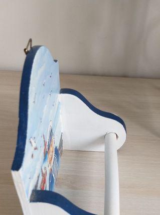 Dévidoir papier toilette pour rouleaux