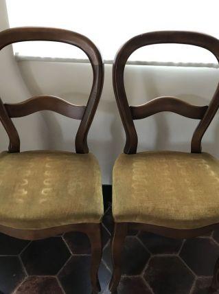 Chaises de style Louis-Philippe