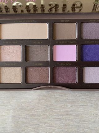 Palette semi-sweet chocolaté Too Faced