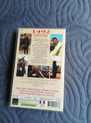 cassette video film 1492 Christophe Colomb