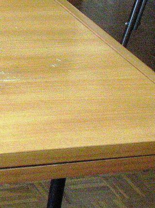 Table vintage de salle à manger de Alain Richard - 1950
