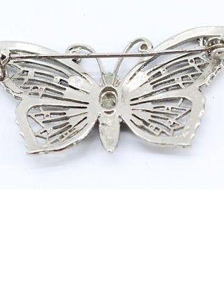 broche papillon vintage