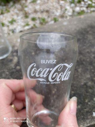 lot de 6 verres Coca