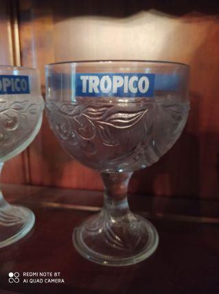 Lot de 4 coupes à glace Tropico