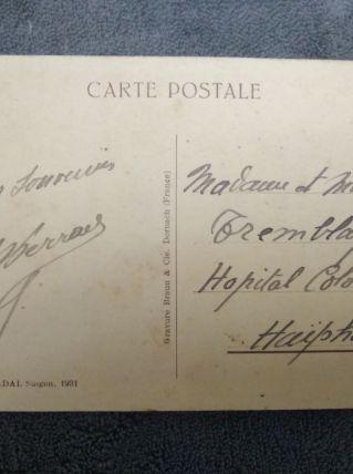 Carte postale ancienne - Indochine