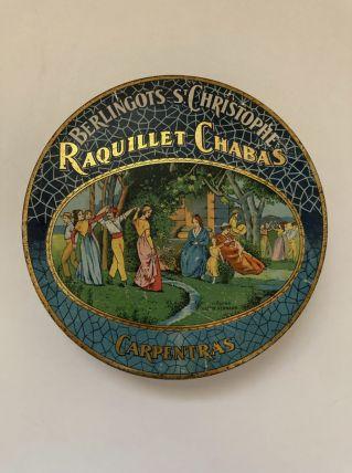 Boîte ancienne de berlingots St Christophe