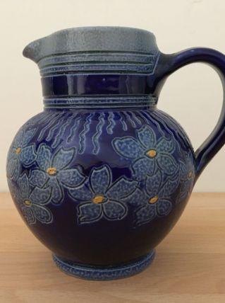 Pichet Vase  Vintage Poterie Grès Betschdorf Alsace Fait mai