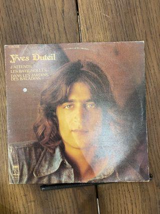 Vinyle vintage Yves Duteil