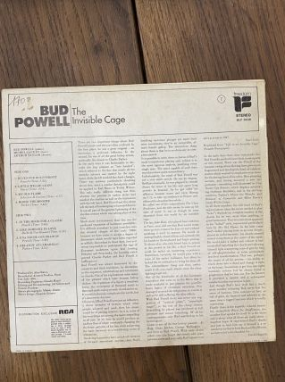vinyle vintage Bud Powell - The Invisible Cage