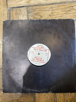 Vinyle vintage special disco mixer «Let's Do It»
