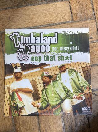 Vinyle vintage Timbaland et Magoo ft Missy Elliott - Cop tha