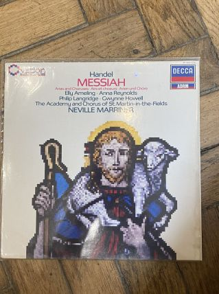Vinyle vintage  George Frideric Handel - Messiah : Airs et C