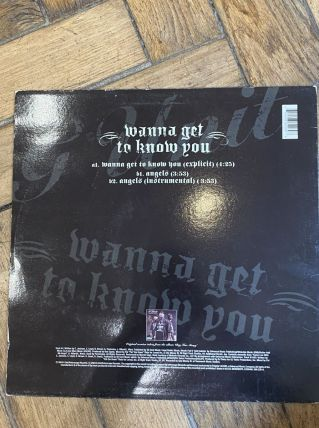 Vinyle vintage G Unit - Wanna get to know you