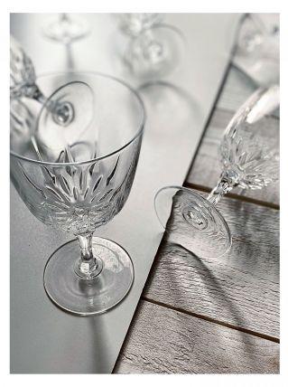 Verres à eau en Cristal D'Arques modèle Compiègne