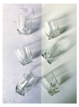 Set de 6 verres à whisky