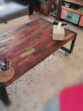 Table basse Bois de Récupération