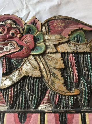 Frise Balinaise en bois